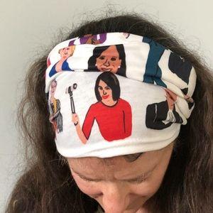 Black tube Gaiter/mask Inspirational women